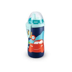 NUK 255354 Kubek KIDDY CUP DISNEY CARS 300ml.